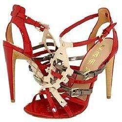 Ladonna Red Patent Sandals