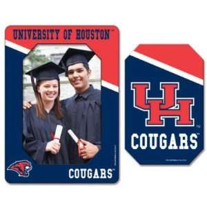 Houston Cougars Official Logo Magnet Frame  Sports