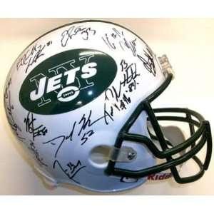 2010 Team Signed Ney York Jets Fs Helmet Cromartie Sports
