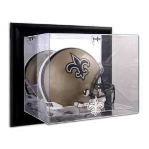 Saints Wall Mounted Full Size Helmet Display Case