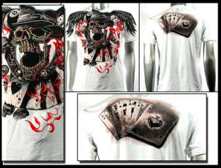Couture T Shirt Skull Tattoo AW29 Sz M L XL XXL Rock Punk Graffiti bmx