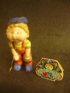 Vintage CABBAGE PATCH KIDS FIGURINE DOLL STATUE 1984