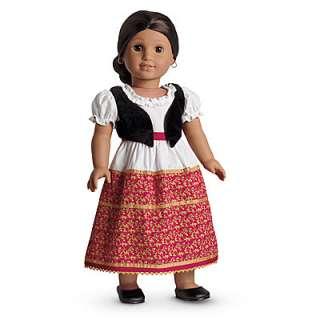 NEW NIB American Girl Doll Josefinas Dress & Vest Set