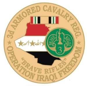 3rd Armored Cavalry Regiment Operation Iraqi Freedom Pin