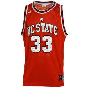 adidas North Carolina State Wolfpack #33 Red Replica Basketball