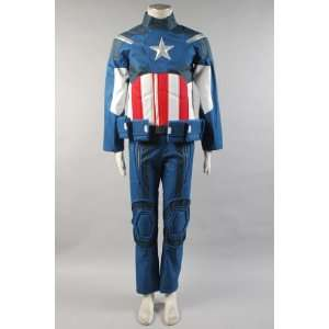 The Avengers NEW Captain America Cosplay Costume Set Toys