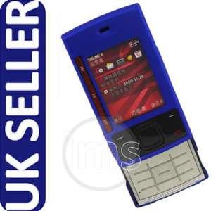 BLUE HYBRID HARD COVER CASE SKIN SHELL FOR NOKIA X3 UK