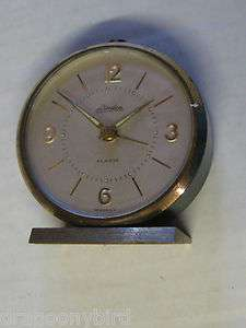 Vintage Old Linden Alarm Clock Made In Germany