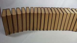 Encyclopedia Britannica 27 Book Series World Atlas Dictionary Antique