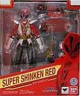Figuarts Shinken Red Shinkenger Power Rangers Samurai Bandai Super