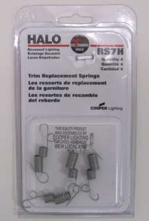 HALO RS7H Recessed Lighting Trim Springs Case of 24