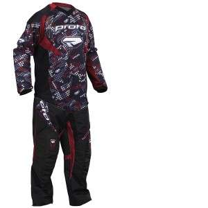 Proto 2010 Paintball Pants & Jersey Combo   Brick Red