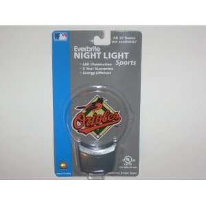 BALTIMORE ORIOLES Team Logo Everbrite (LED) NIGHT LIGHT (2
