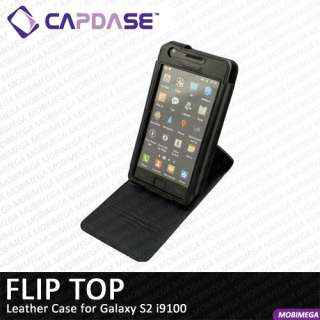 name capdase flip top leather case cover with belt clip for galaxy