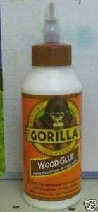 Gorilla Glue Wood Glue 8oz Bottle Natural Color