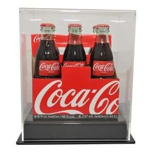 Six Pack Soda Bottle Display Case
