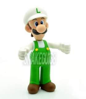 New Super Mario Bros 5 LUIGI Action Figure Toy+MS223