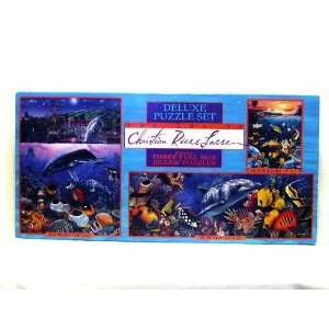 The Art of Christian Riese Lassen Three Full Size Jigsaw Puzzles