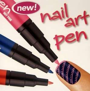 New Sally Hansen Nail Art Pens and Color Quick Fast Dry Pens