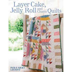 , Jelly Roll and Charm Quilts, Lintott, Pam Home, Hobbies & Garden