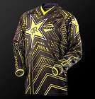 msr rockstar energy drink jersey black with yellow youth x
