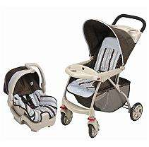 Evenflo Zing Discovery Travel System   Blue Georgia Stripe   Sams