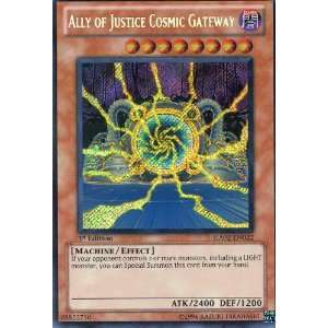ALLY OF JUSTICE COSMIC GATEWAY secret HA02 EN022 Toys & Games
