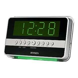JENSEN AM/FM Dual Alarm Auto Time Set Clock Radio  Jensen® Computers