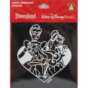 Authentic Original Disney Parks Princess Vinyl Car Window