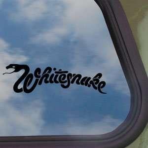 Whitesnake Black Decal Rock Band Car Truck Window Sticker