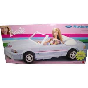 Barbie Ford Mustang Cool Convertible Car Vehicle (2002) Toys & Games