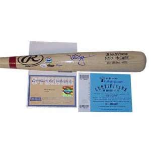 Mark McGwire St. Louis Cardinals Autographed Game Model