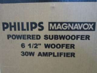 NEW Philips Powered Subwoofer Speakerpact.Active Woofer.w