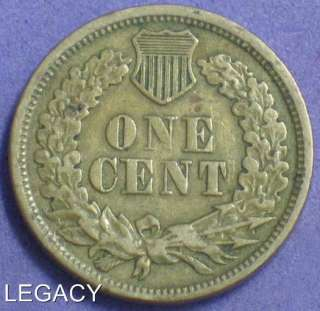 1864 INDIAN HEAD CENT FULL LIBERTY COPPER NICKEL (IS+