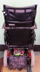 RANGER X STORM INVACARE POWER ELECTRIC WHEELCHAIR