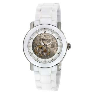 NEW* Kenneth Cole New York Womens White Ceramic Automatic Watch