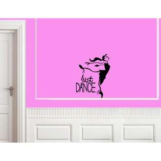 Just Dance Vinyl wall quotes and sayings decals  Vinylsay For the Home