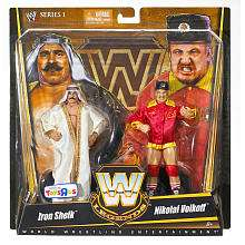 WWE Legends Action Figure Elite 2 Pack   Iron Sheik & Nikolai Volkoff