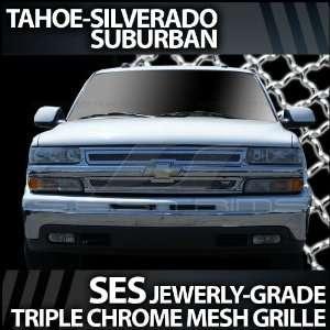 2000 2006 Chevy Suburban Tahoe SES Chrome Mesh Grille