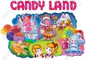 Candy Land T Shirt Iron on Transfer #1