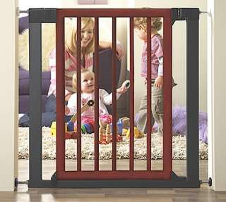 PROTECT Wood and Steel Designer Gate by Munchkin   Munchkin   Babies