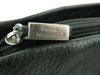 Stone Mountain Black Soft Leather Shoulder Purse Handbag Pre Owned Bag