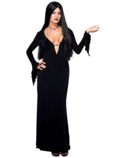 Morticia Costume  Wholesale Addams Family Adult Halloween Costume for