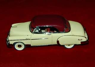 FRANKLIN MINT DIE CAST EXACT REPLICA 124 CHEVROLET BEL AIR 1950 AS IS