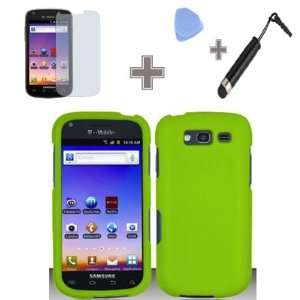 Green Color Snap on Hard Case Skin Cover Faceplate for Samsung Galaxy