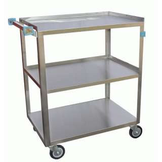 Stainless Steel Angle Leg Utility Bus Cart 350Lb C 3222