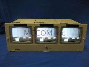 Panasonic WV BM503 5 Triple B/W Monitors