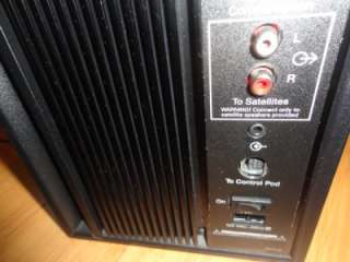 BOSE COMPANION 3 MULTIMEDIA COMPUTER SPEAKER SYSTEM W/VOLUME CONTROL