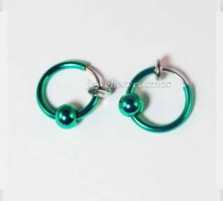 piercings stud hoop nose lip ear rings punk goth unisex