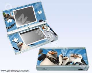 Nintendo DS Lite Skin Vinyl Decal   Madagascar Penguins #2